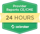 Provider Reports CE CME 24 Hrs CE Broker